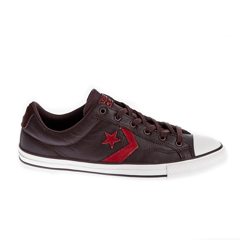CONVERSE – Unisex παπούτσια Star Player Ox μπορντώ