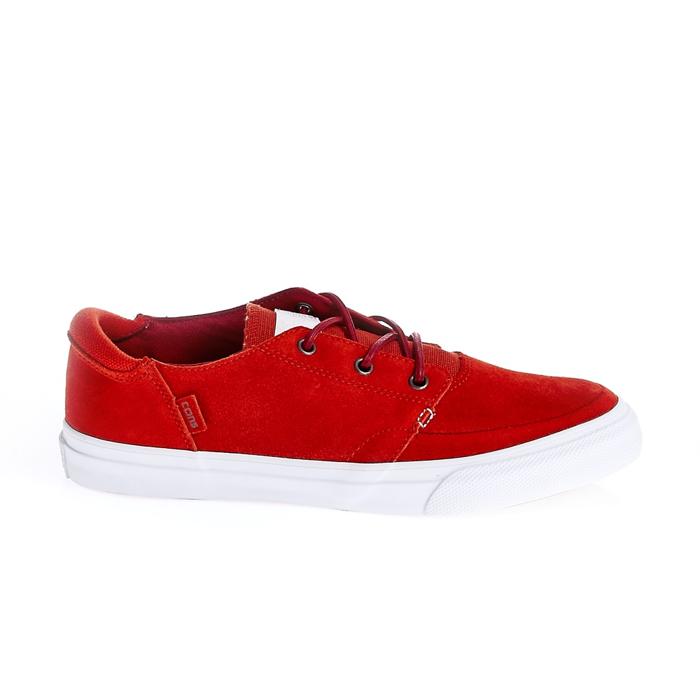 CONVERSE – Unisex παπούτσια Deck Star Ox κόκκινα