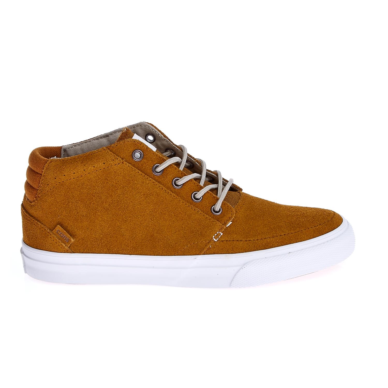 CONVERSE – Unisex παπούτσια Deck Star Mid καφέ
