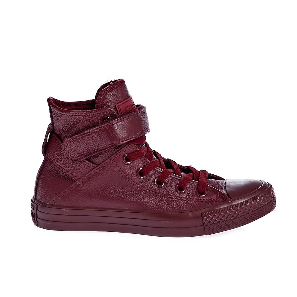 CONVERSE - Γυναικεία παπούτσια Chuck Taylor All Star Brea Lea μπορντώ
