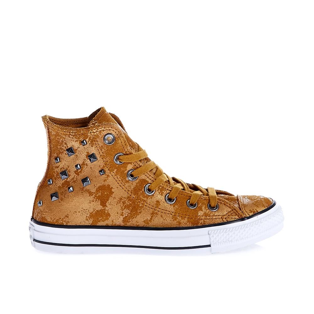 CONVERSE - Γυναικεία μποτάκια Chuck Taylor All Star Hardware μπεζ γυναικεία παπούτσια sneakers