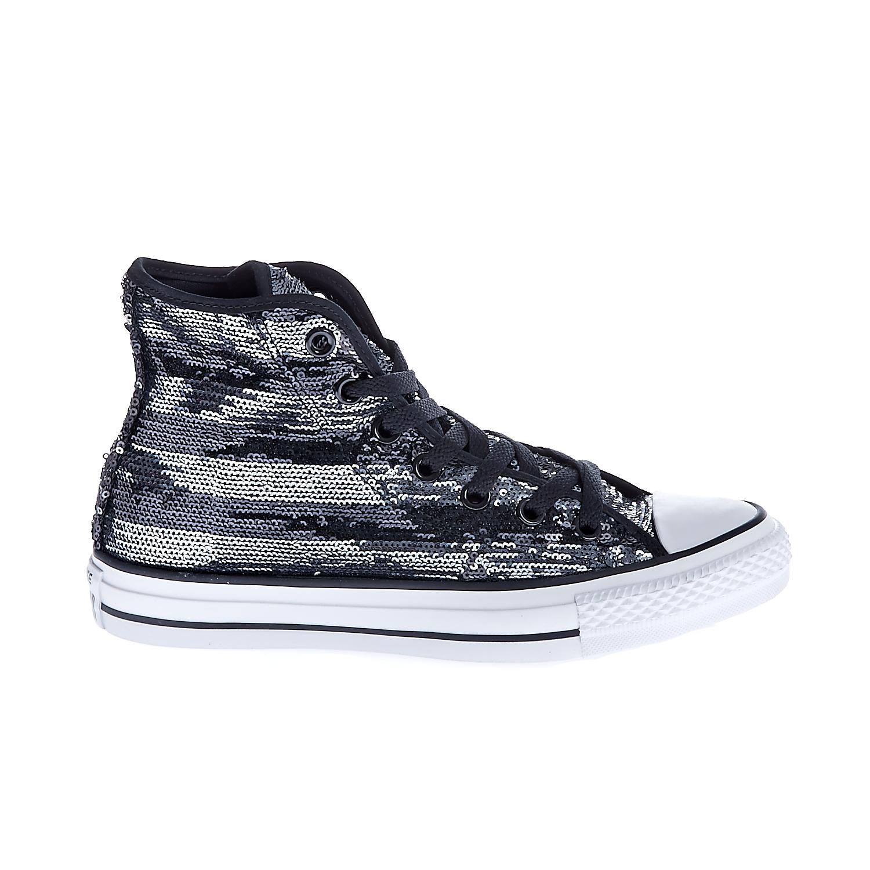 CONVERSE – Γυναικεία παπούτσια Chuck Taylor All Star Material μαύρα