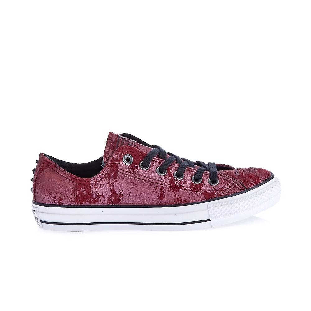 0d99a3950a9 CONVERSE - Γυναικεία παπούτσια Chuck Taylor All Star Hardware μπορντώ