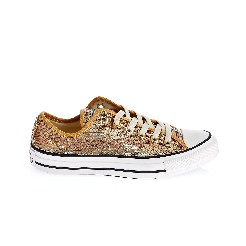 CONVERSE – Γυναικεία παπούτσια Chuck Taylor All Star Sequin O μπεζ