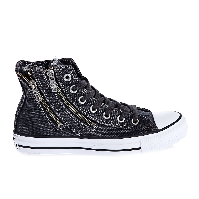CONVERSE - Γυναικεία παπούτσια Chuck Taylor All Star Dual Zip ανθρακί γυναικεία παπούτσια sneakers