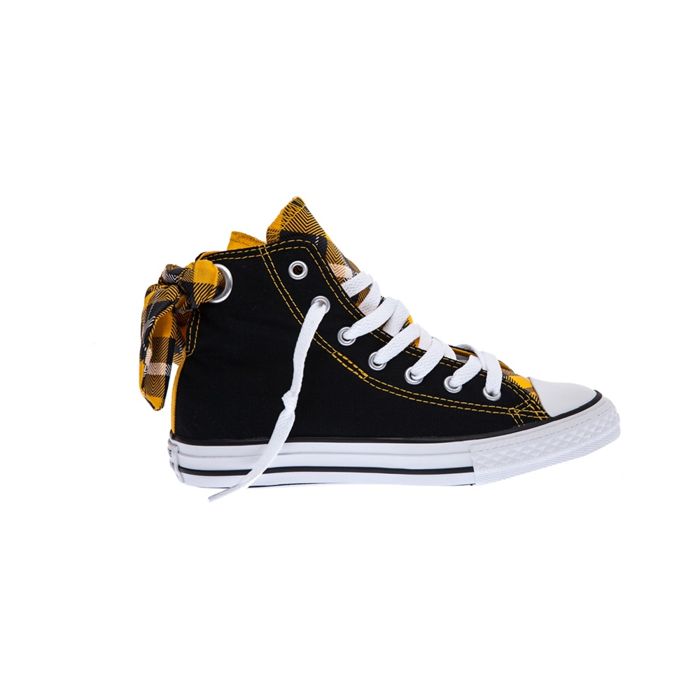 CONVERSE - Παιδικά παπούτσια Chuck Taylor All Star Bow Back μαύρα παιδικά boys παπούτσια sneakers