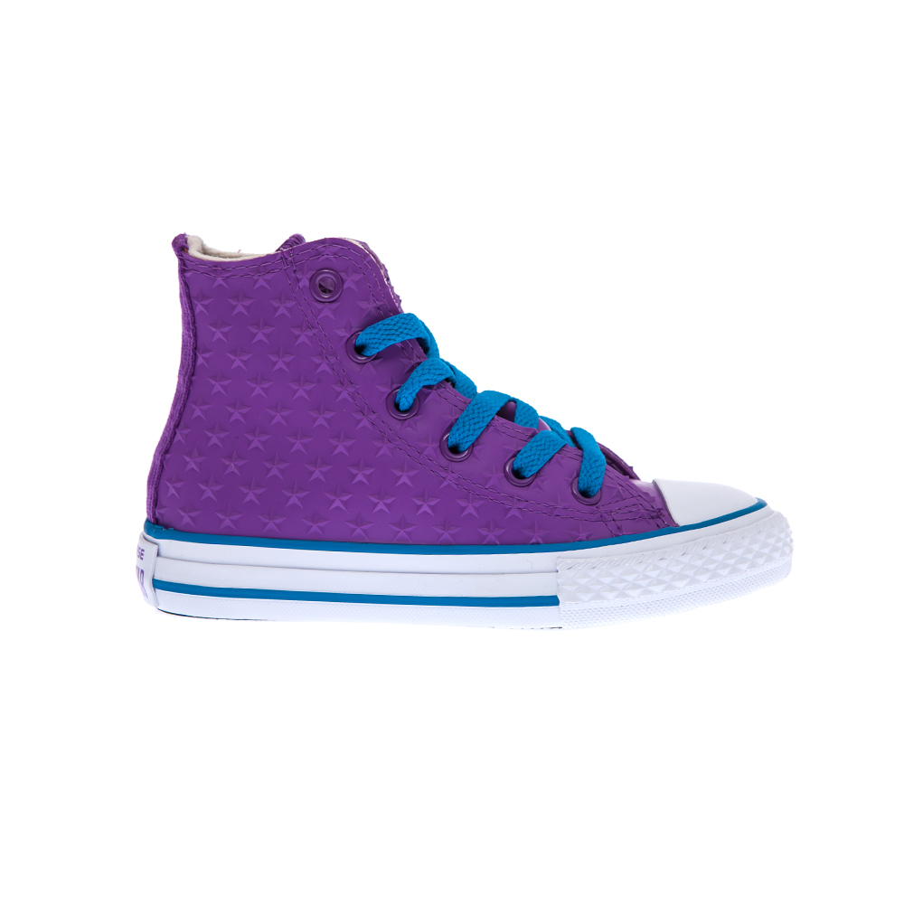 CONVERSE - Παιδικά παπούτσια Chuck Taylor All Star Hi μωβ παιδικά boys παπούτσια sneakers