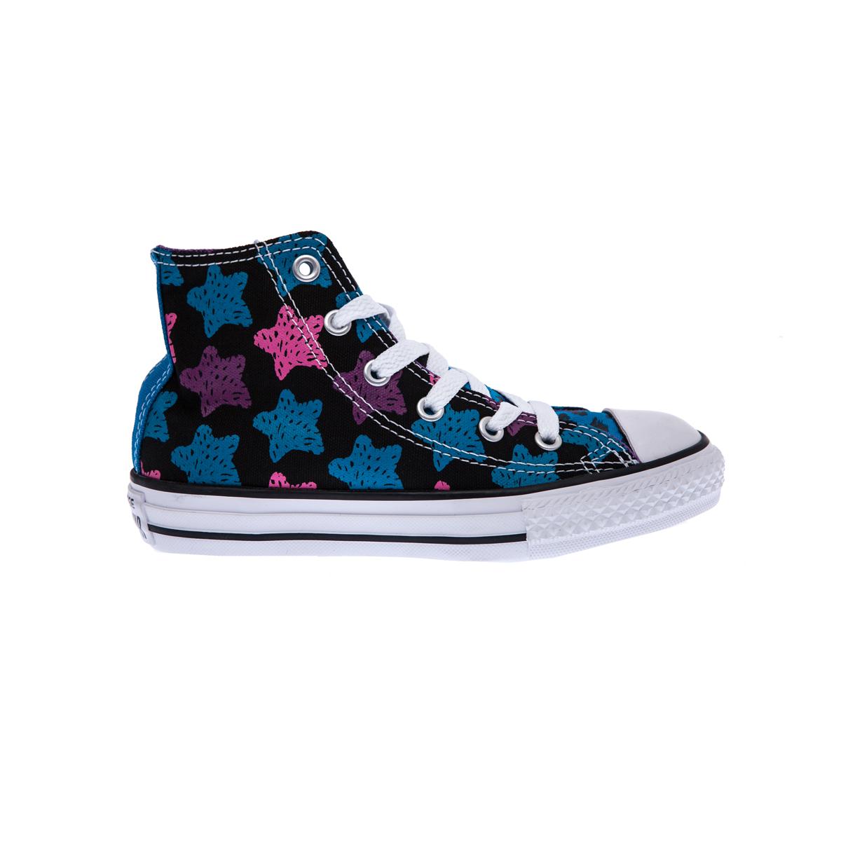 CONVERSE – Παιδικά παπούτσια Chuck Taylor All Star Hi μαύρα