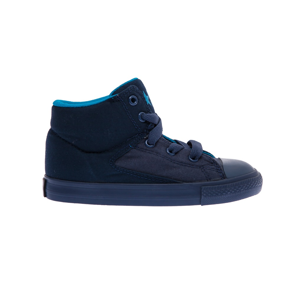 CONVERSE – Βρεφικά παπούτσια Chuck Taylor All Star High Str μπλε