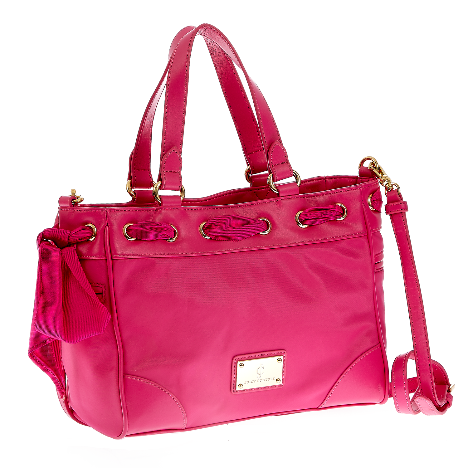 JUICY COUTURE – Γυναικεία τσάντα Juicy Couture φούξια 1400739.0-00F1