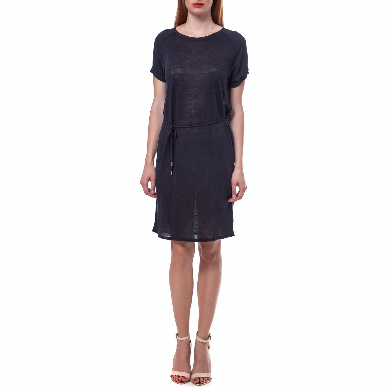CALVIN KLEIN JEANS - Γυναικείο φόρεμα Calvin Klein Jeans μπλε γυναικεία ρούχα φορέματα μέχρι το γόνατο
