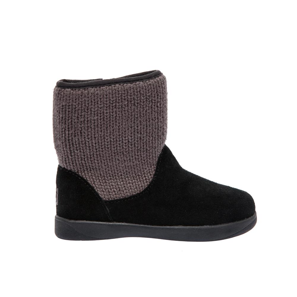 UGG AUSTRALIA - Βρεφικά μποτάκια Ugg Australia μαύρα παιδικά baby παπούτσια μπότες μποτάκια