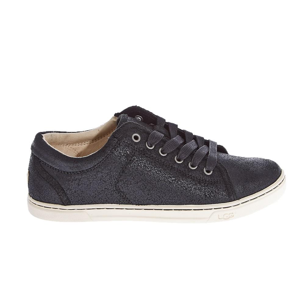 UGG AUSTRALIA – Γυναικεία δερμάτινα παπούτσια Ugg Australia μαύρα