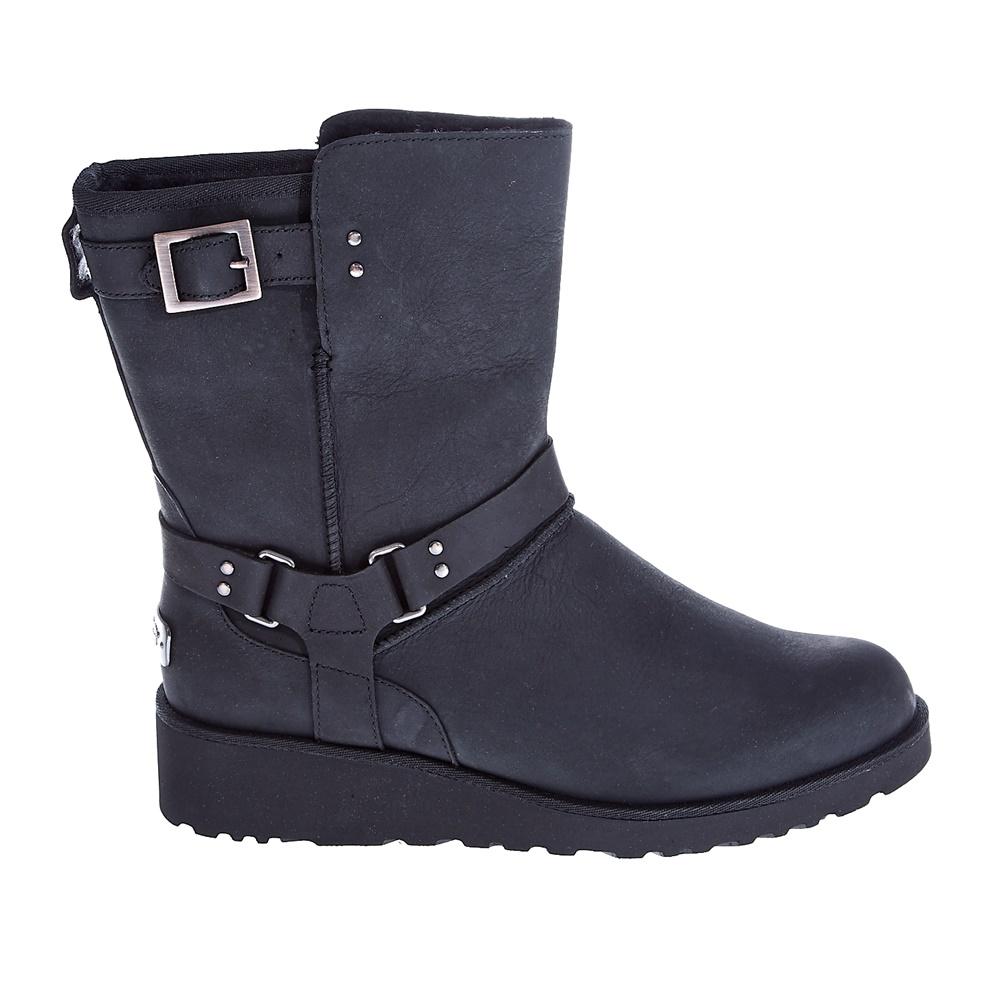 UGG AUSTRALIA - Γυναικεία μποτάκια Ugg Australia μαύρα γυναικεία παπούτσια μπότες μποτάκια μποτάκια