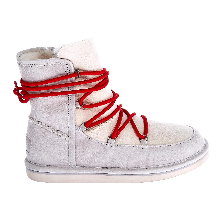 UGG AUSTRALIA - Γυναικεία μποτάκια Ugg Australia εκρού γυναικεία παπούτσια μπότες μποτάκια μποτάκια