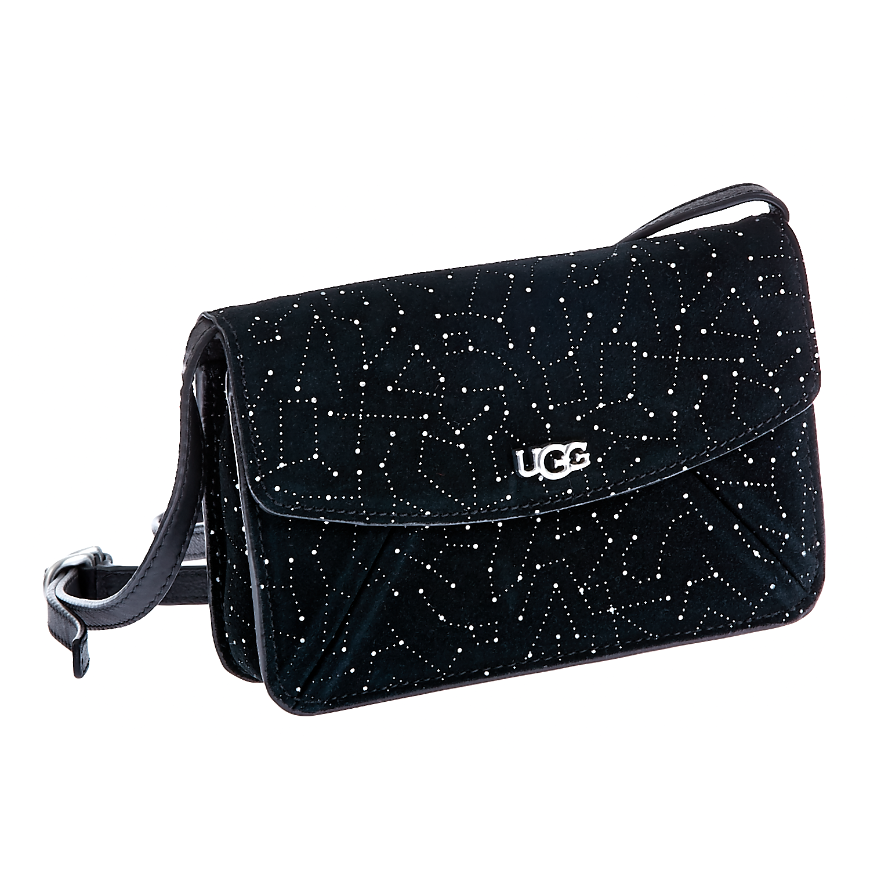 UGG AUSTRALIA – Γυναικεία τσάντα Ugg Australia μαύρη 1402018.0-0071
