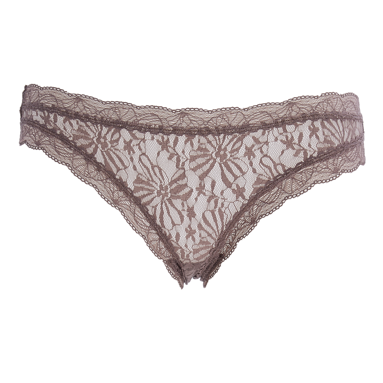 CK UNDERWEAR - Σλιπ Calvin Klein γκρι-μπεζ γυναικεία ρούχα εσώρουχα σλιπ