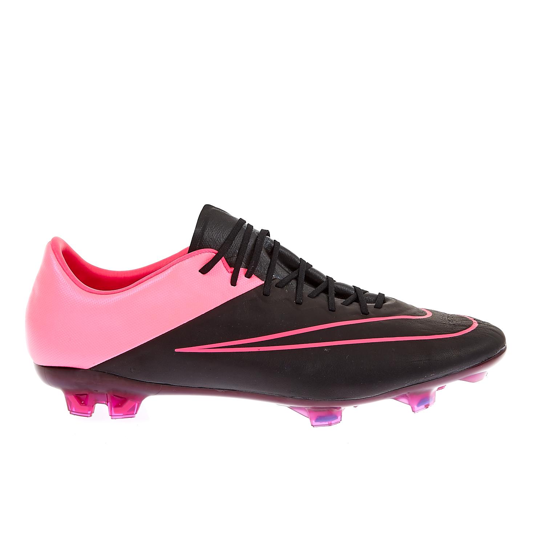 NIKE – Ανδρικά παπούτσια MERCURIAL VAPOR X LTHR FG μαύρα-ροζ