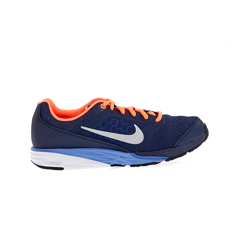 NIKE – Παιδικά αθλητικά παπούτσια NIKE TRI FUSION RUN μπλε