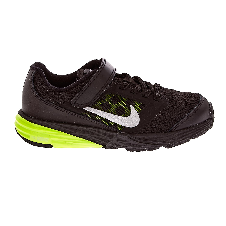 NIKE – Παιδικά αθλητικά παπούτσια NIKE TRI FUSION RUN μαύρα-κίτρινα
