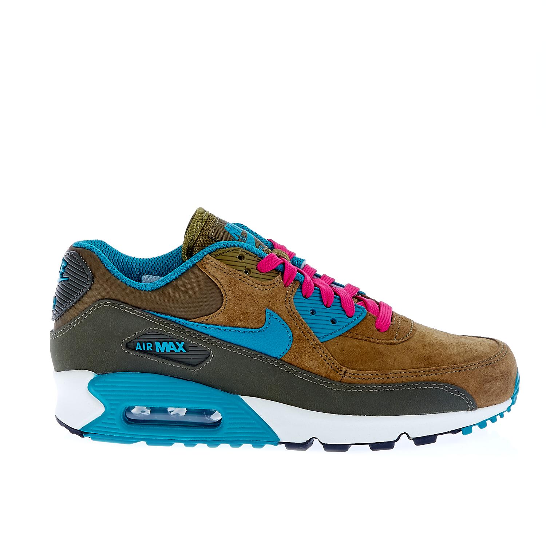 NIKE - Γυναικεία παπούτσια Nike AIR MAX 90 λαδί