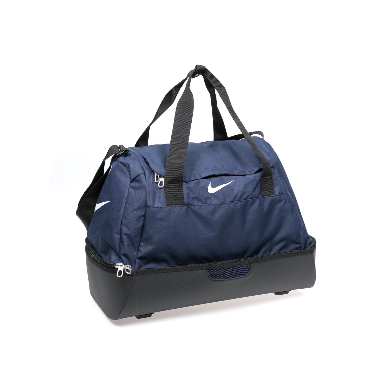 NIKE – Τσάντα γυμναστηρίου NIKE CLUB TEAM M HDCS DUFFEL μπλε-μαύρη