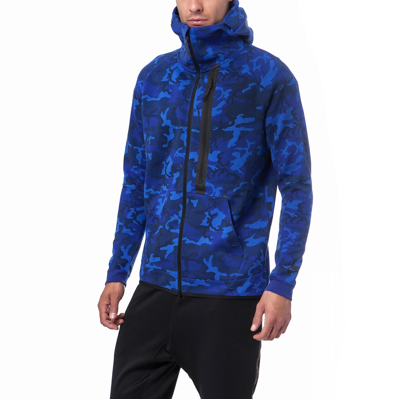 NIKE - Ανδρική ζακέτα Nike μπλε