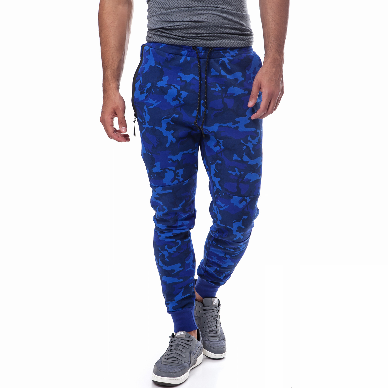 NIKE - Ανδρική φόρμα Nike μπλε ανδρικά ρούχα αθλητικά φόρμες