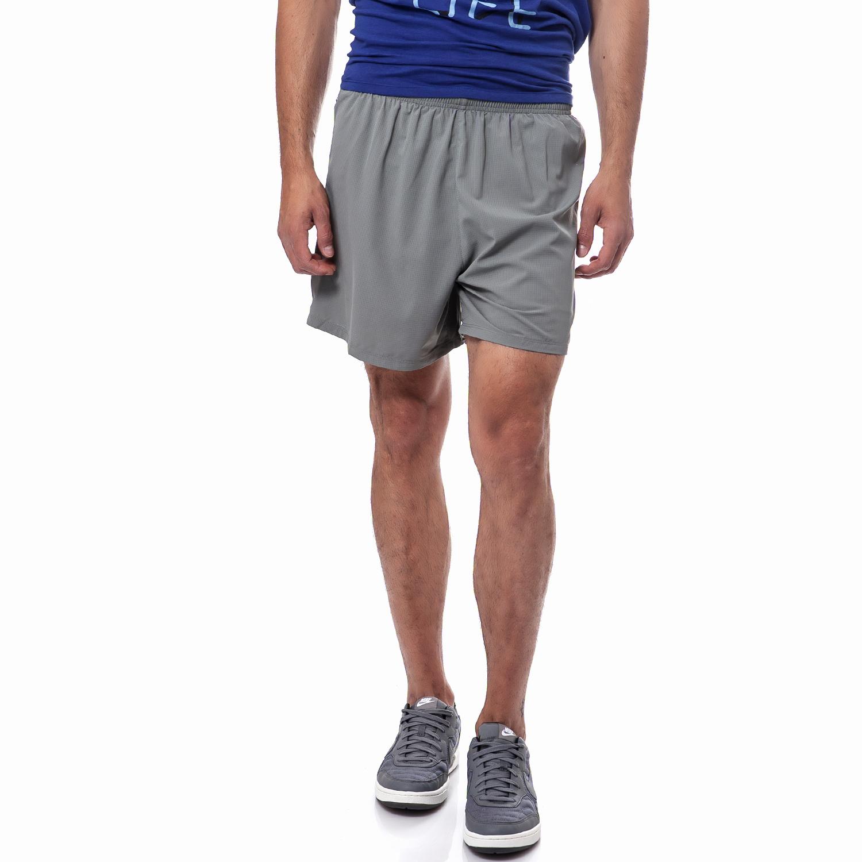 """NIKE - Ανδρικό σορτς Nike 5"""" PHENOM γκρι ανδρικά ρούχα σορτς βερμούδες αθλητικά"""
