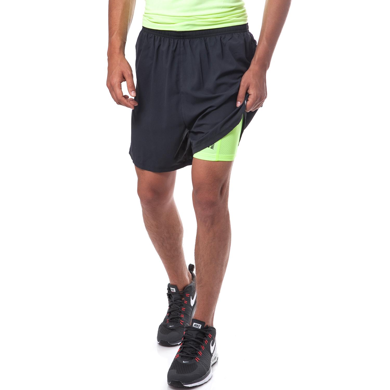 """NIKE - Ανδρικό σορτς Nike 5"""" PHENOM μαύρο ανδρικά ρούχα σορτς βερμούδες αθλητικά"""