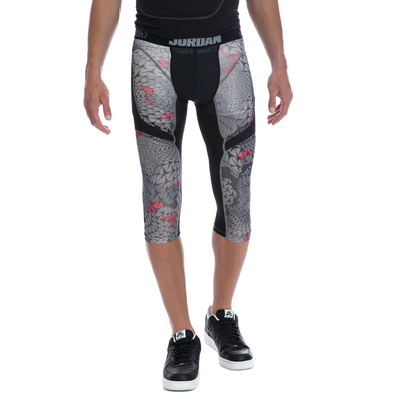 NIKE - Αντρικό κολάν NIKE μαύρο-γκρι ανδρικά ρούχα αθλητικά κολάν