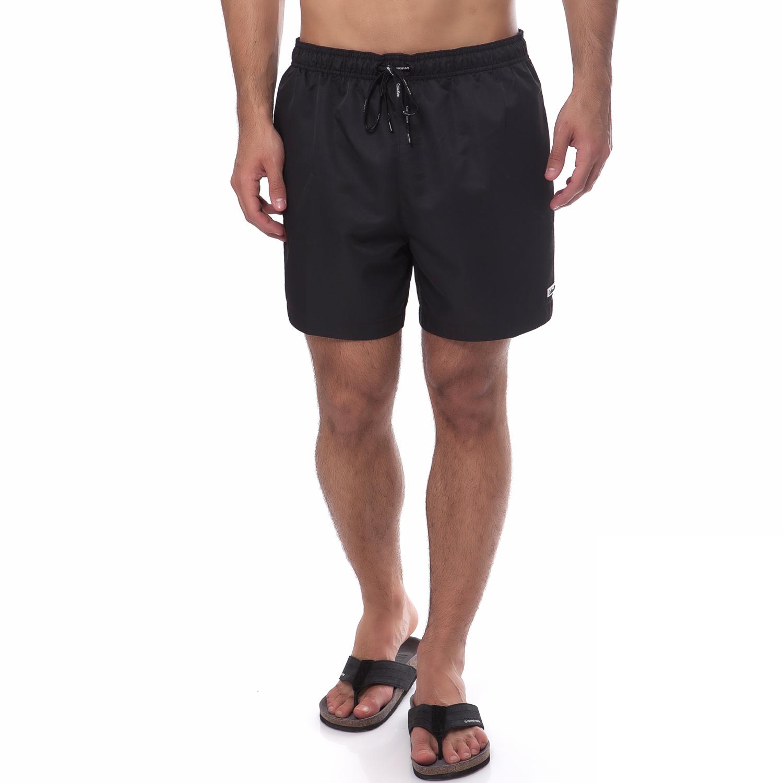 CK UNDERWEAR - Μαγιό βερμούδα CK μαύρο ανδρικά ρούχα μαγιό βερμούδες