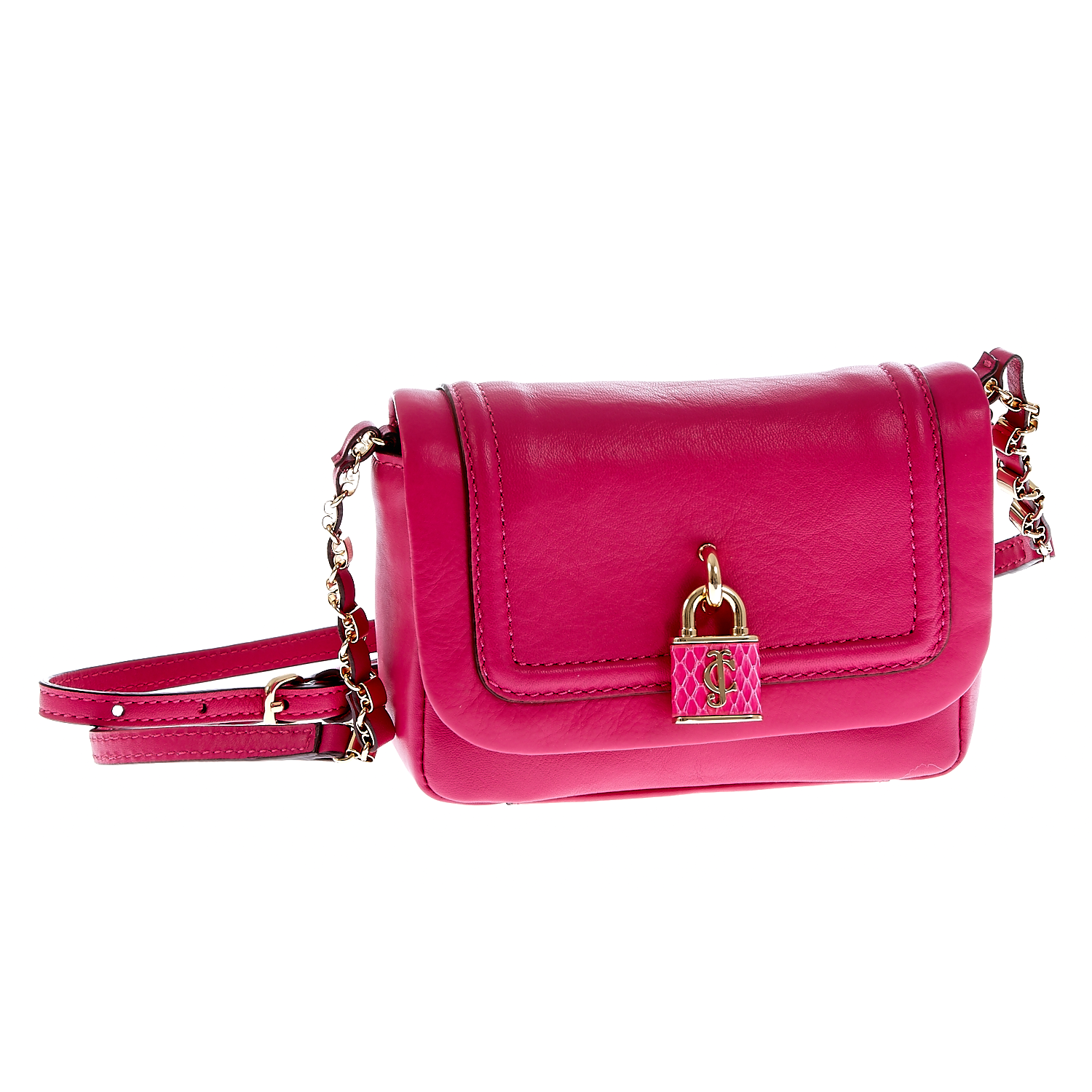 JUICY COUTURE – Γυναικεία τσάντα Juicy Couture φούξια 1409479.0-00F1