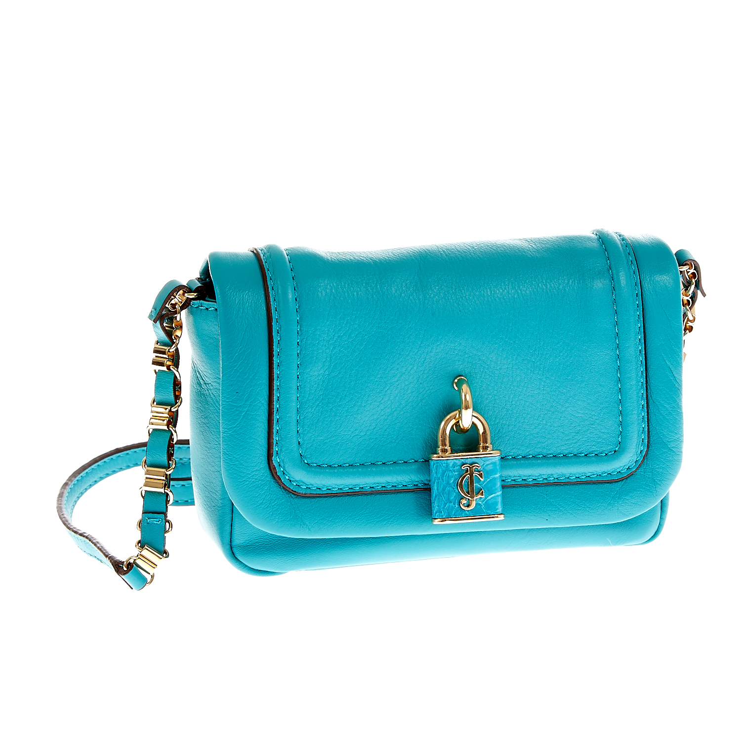 JUICY COUTURE – Γυναικεία τσάντα Juicy Couture τυρκουάζ 1409479.0-00T1