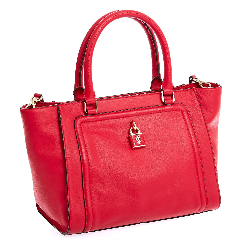 JUICY COUTURE - Τσάντα Juicy Couture κόκκινη γυναικεία αξεσουάρ τσάντες σακίδια ωμου