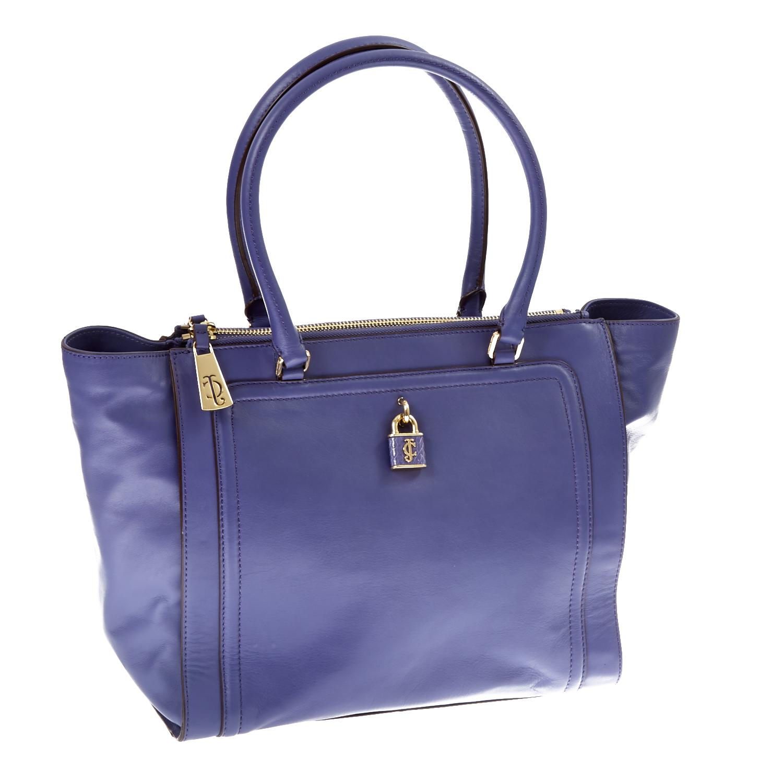 JUICY COUTURE – Δερμάτινη τσάντα Juicy Couture μωβ 1409481.0-00D6
