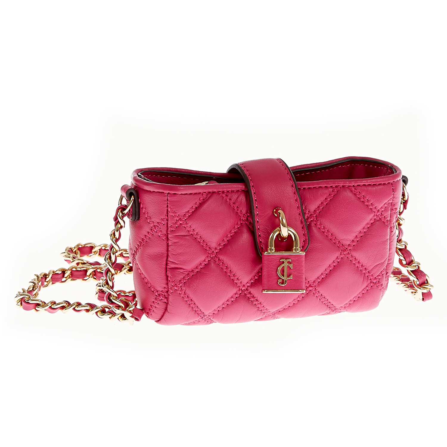 JUICY COUTURE – Γυναικεία τσάντα Juicy Couture φούξια 1409505.0-00F1