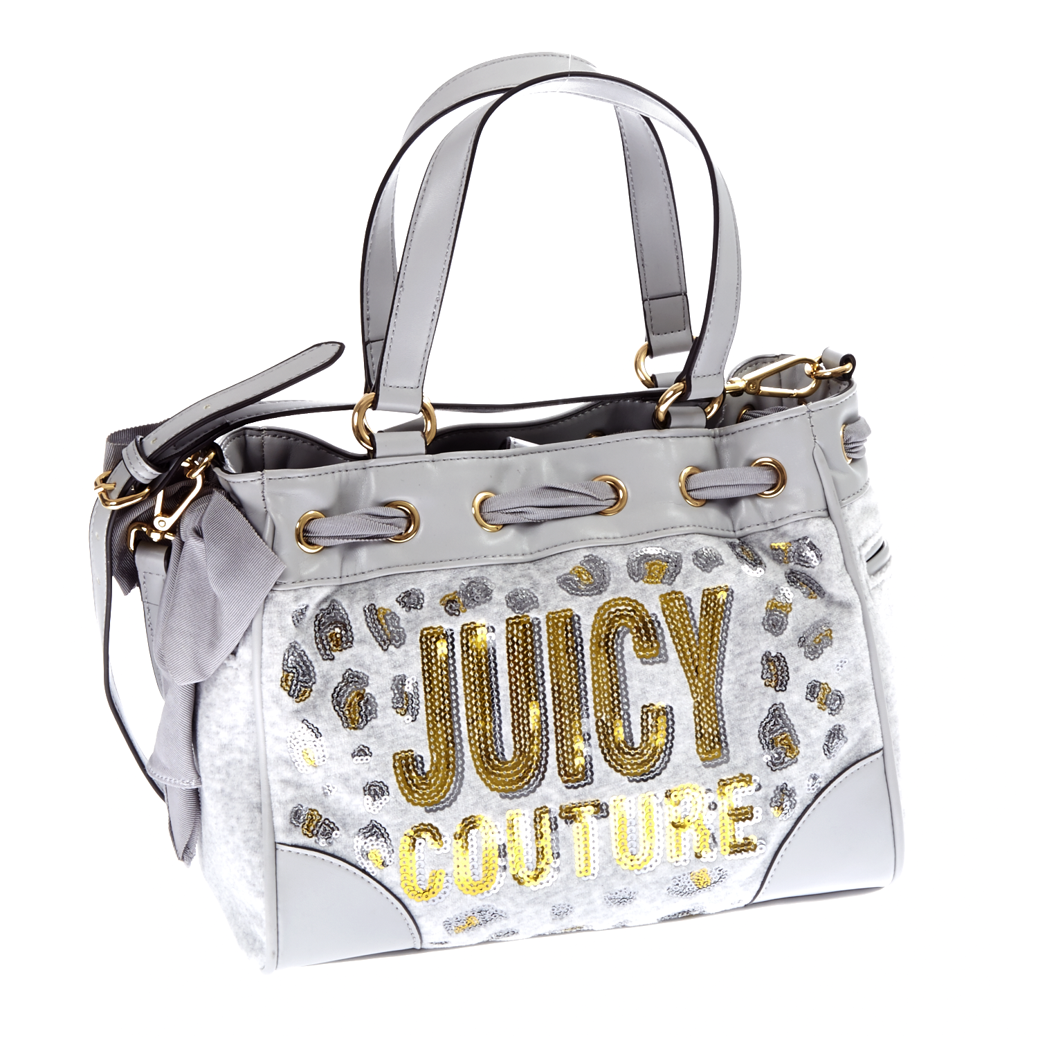 JUICY COUTURE – Γυναικεία τσάντα Juicy Couture γκρι 1409511.0-0088