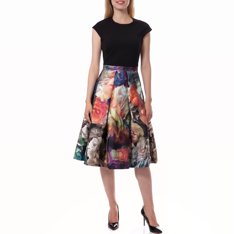 TED BAKER - Γυναικείο φόρεμα Ted Baker μαύρο γυναικεία ρούχα φορέματα μέχρι το γόνατο