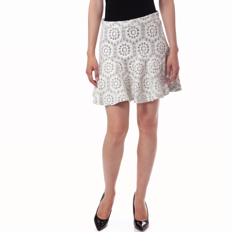JUICY COUTURE - Γυναικεία φούστα Juicy Couture ημίλευκη γυναικεία ρούχα φούστες μίνι