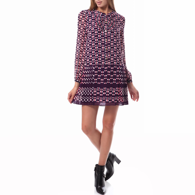JUICY COUTURE - Γυναικείο φόρεμα Juicy Couture μωβ γυναικεία ρούχα φορέματα μίνι