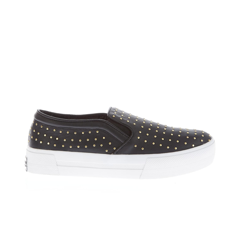JUICY COUTURE - Γυναικεία παπούτσια Juicy Couture μαύρα γυναικεία παπούτσια μοκασίνια μπαλαρίνες μοκασίνια