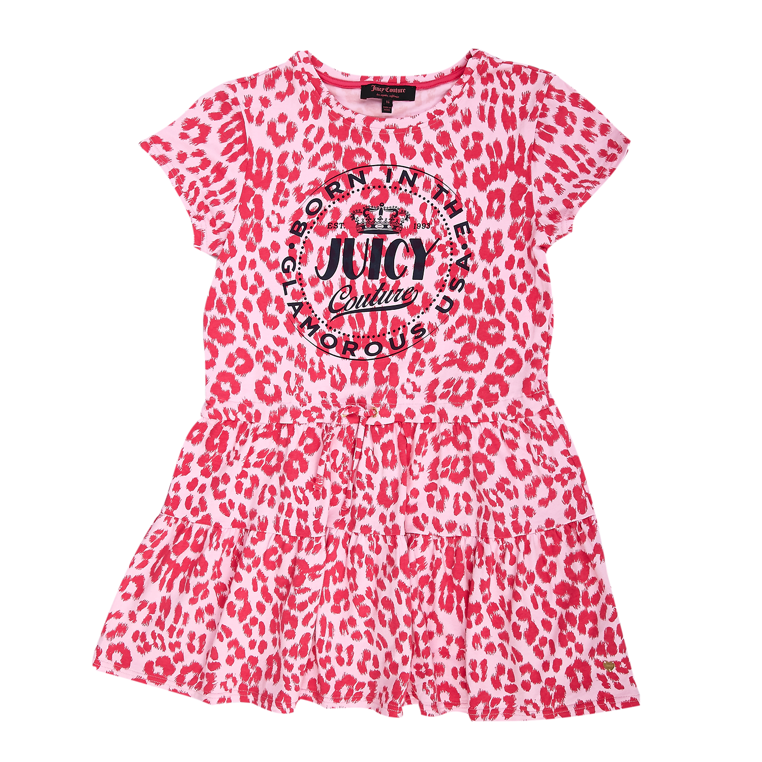 JUICY COUTURE KIDS - Παιδικό φόρεμα Juicy Couture ροζ