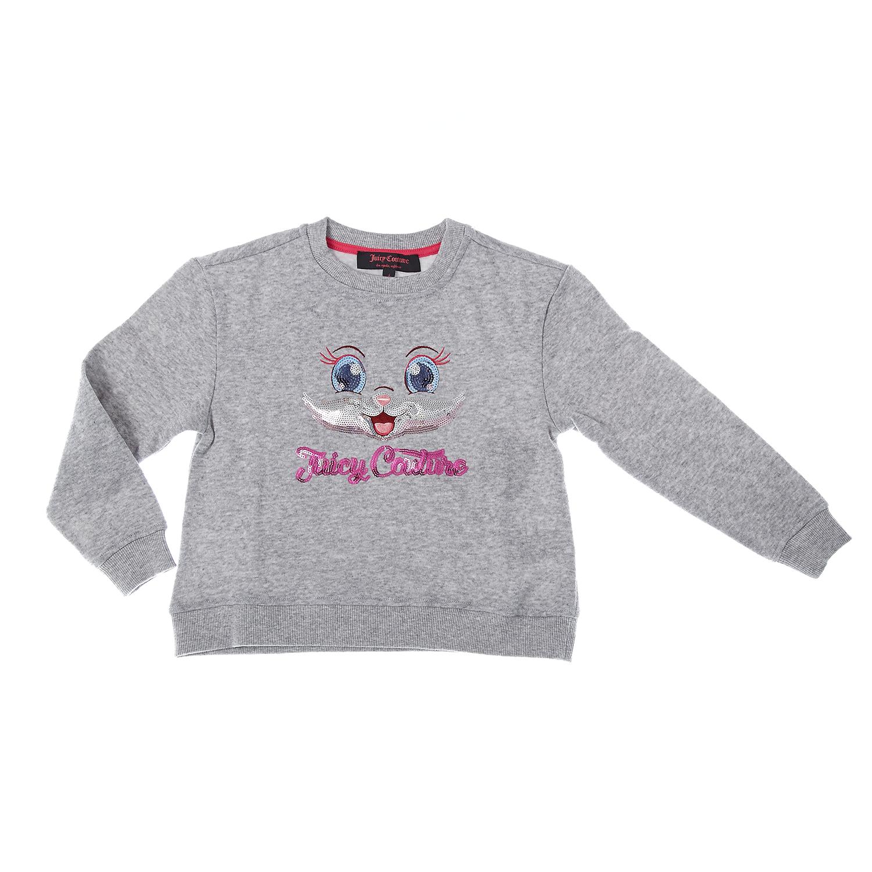 JUICY COUTURE KIDS - Παιδική μπλούζα Juicy Couture γκρι
