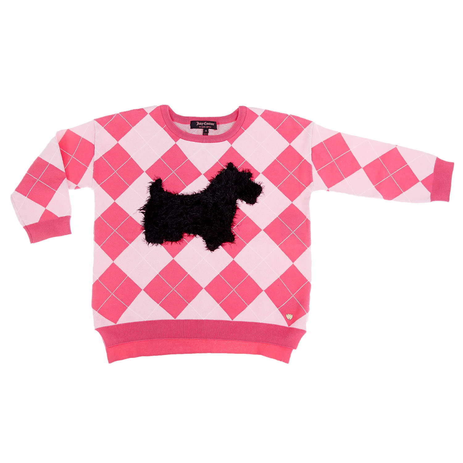 JUICY COUTURE KIDS - Παιδικό πουλόβερ Juicy Couture ροζ
