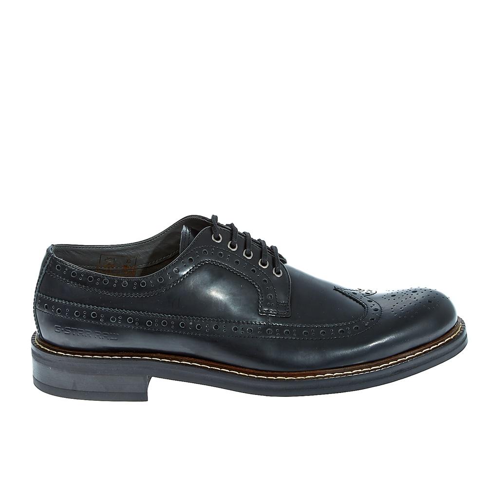 "G-STAR RAW - Ανδρικά παπούτσια ""Trent Longwing"" μαύρα ανδρικά παπούτσια μοκασίνια loafers"