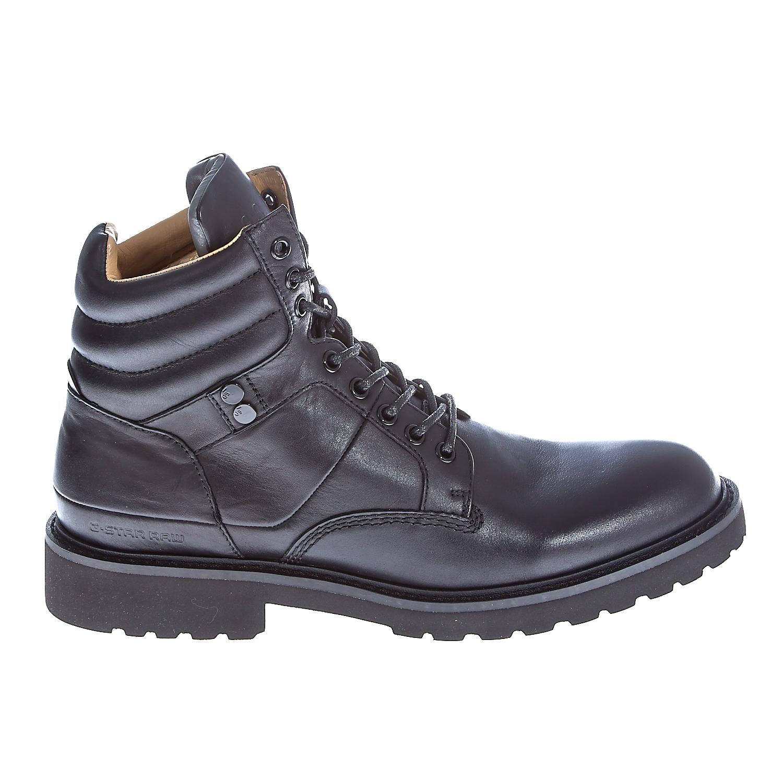 "G-STAR RAW - Ανδρικά μποτάκια ""Barrage Quadrant"" μαύρα ανδρικά παπούτσια μπότες μποτάκια μποτάκια"