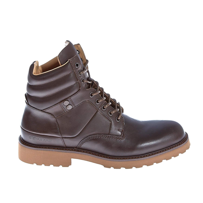 "G-STAR RAW - Ανδρικά μποτάκια ""Barrage Quadrant"" καφέ ανδρικά παπούτσια μπότες μποτάκια μποτάκια"