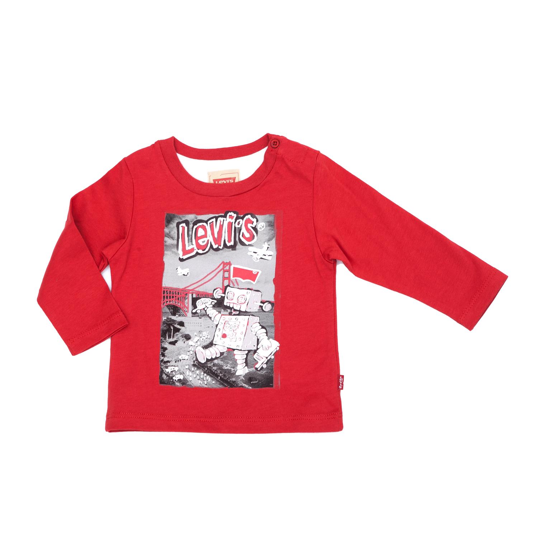 LEVI'S KIDS - Παιδική μπλούζα Levi's Kids κόκκινη