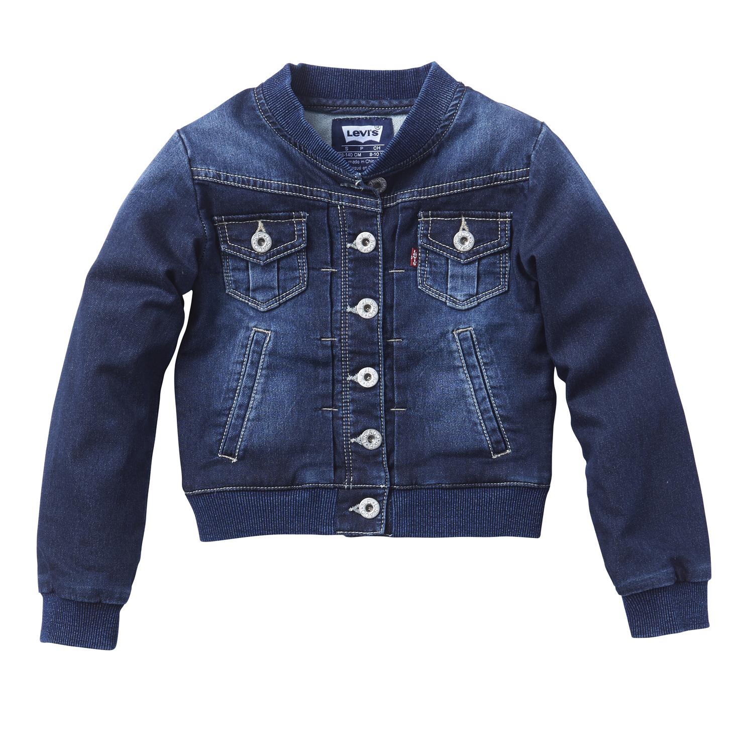 LEVI S KIDS - Παιδικό τζιν μπουφάν Levi s Kids μπλε e3c6c017bac